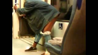 The lady that pee'd on the light rail riverline