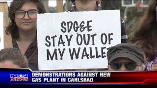 Solana Beach Power Plant Protest May 5, 2015