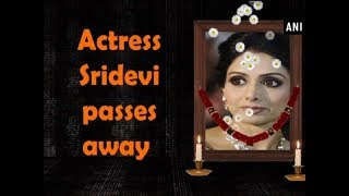 Actress Sridevi passes away - Bollywood News