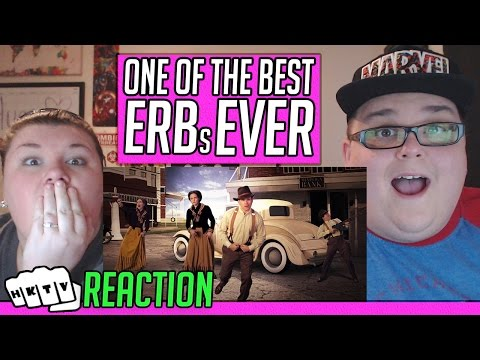 Romeo and Juliet vs Bonnie and Clyde. Epic Rap Battles of History Season 4 REACTION!! 🔥