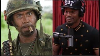 Jamie Foxx on Robert Downey Jr. Doing Blackface - Joe Rogan