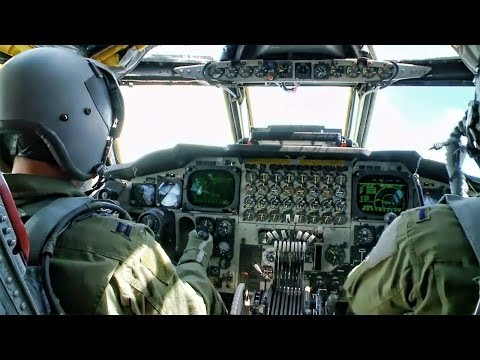 Inside A B 52 Cockpit • Takeoff To Landing