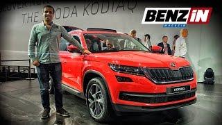 Skoda Kodiaq Lansmanı - Benzin TV 2016 * English Subtitled