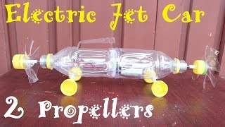 How to Make an Electric Jet Car | 2 Propellers