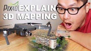 DJI Mavic 3D Mapping Explanation with PIX4D (For Dummies ONLY)