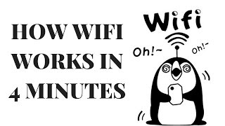How WiFi Works in 4 Minutes