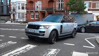 LOUD Arab Range Rover Vogue Supercharged revs & lovely sound 1080p