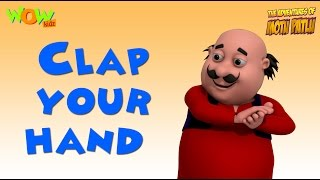 Clap your hand  l Nursery Rhyme with MOTU PATLU | Popular Nursery Rhymes For Children