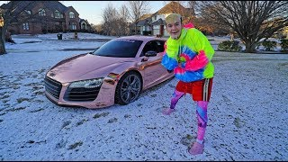 SUPERCAR VS SNOW!!