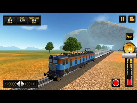 Indian Train Driving Game - New Engine Unlocked | Indian Train Simulator : Train Games - GamePlay HD