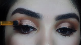 How to apply eyeshadow for beginners as a PRO in Urdu/Hindi