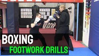 Boxing Footwork Drills 1. Step Jab
