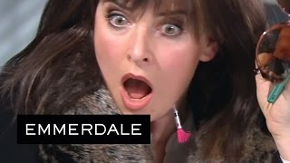 Emmerdale - Charity Tranquillises Herself With a Dart Gun