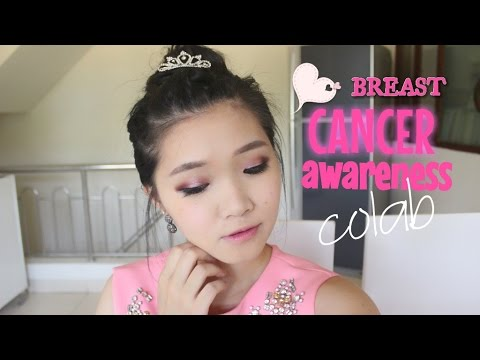 Breast Cancer Awareness MakeUp colab #wearpinkmonth!  - Indonesia's eyes