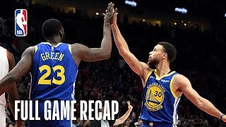 WARRIORS vs TRAIL BLAZERS   Golden State Comes Back Again   Game 3