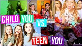 CHILD YOU vs TEEN YOU! | Tatiana Boyd