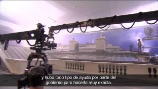Detrás de cámaras - La Caída de la Casa Blanca