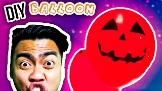 DIY GLOW IN THE DARK BALLOON!