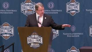 TigerNet.com - Highlights from Dabo Swinney accepting MacArthur Bowl National Championship