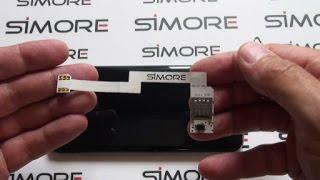 Galaxy S7 Edge - Adaptateur Double SIM 4G pour Samsung Galaxy S7 Edge SM-G935F - SIMore ZX-Twin