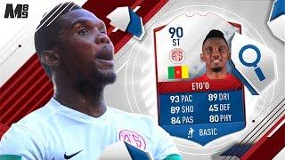FIFA 17 FUT BIRTHDAY ETO'O REVIEW   90 ETO'O   FIFA 17 ULTIMATE TEAM PLAYER REVIEW