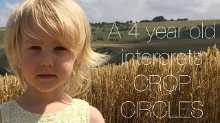 🤔 Crop Circles interpreted by a 4 year old child.🤔