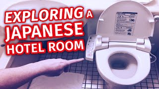 Exploring a Japanese Hotel Room | Tour