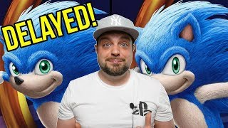Sonic The Hedgehog Movie DELAYED Until 2020 - And EVERYONE Wins!