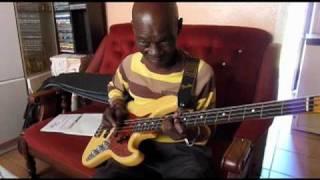 Joep Pelt in South Africa (Part 14) - Joseph Makwela: Mbaqanga Bass Guitar Lesson