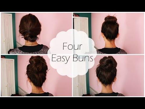 4 Easy Buns | Shawna