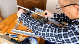 Точилка AKSS Самодельный станок Knife sharpening Homemade knife sharpening system AKSS