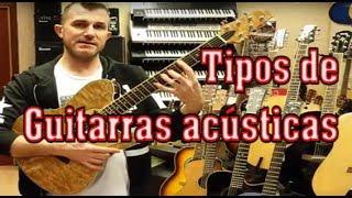 Tutorial: Tipos de guitarras acústicas