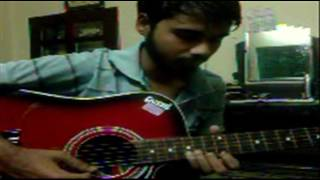 Dhoom & Don Theme Tune Fusion On Guitar By Aninda