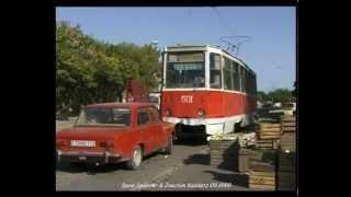 Baku (Azerbaijan) Tramway / Straßenbahn and Trolleybus - 09.1999