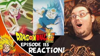 Dragon Ball Super Episode 115 HD English Subbed (SSJ Blue Kaioken Goku VS Kefla) REACTION!!!