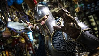 Adam Savage's New Warcraft Armor!