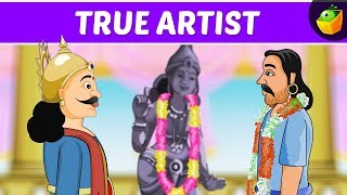True Artist | Tenali Raman In English | Animated Stories For Kids