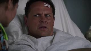 Person of Interest - Fusco in the hospital (05x07)