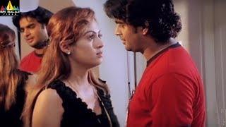 Priyasakhi Movie Madhavan and Sada Scene | Telugu Movie Scenes | Sri Balaji Video