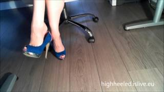 High Heel Shoe Play........Dangling with my shoes