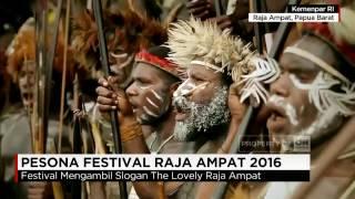 Pesona Festival Raja Ampat 2016
