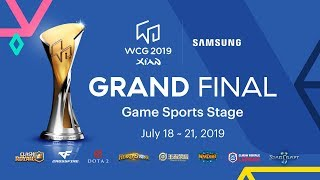 [Day 2] WCG 2019 Xi'an Grand Final - Game Sports Stage