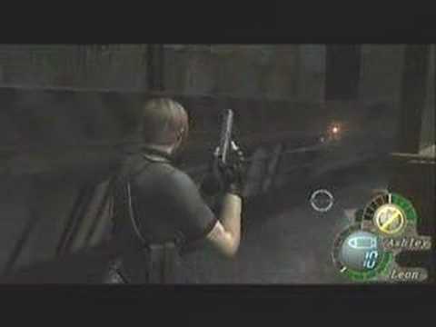 Wii版バイオ4 PRO 無改造初期ハンドガン ブルドーザー(運良くノーダメージ)