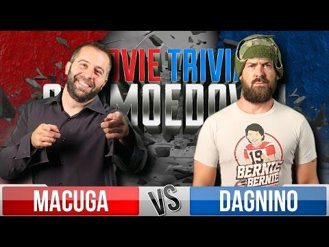 Josh Macuga Vs. Tom Dagnino - Movie Trivia Schmoedown