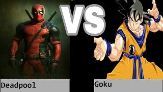 Goku Vs Deadpool