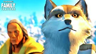 WHITE FANG | Trailer for Netflix's Animated Movie about an Alaskan Wolf Dog
