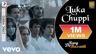 Luka Chuppi - Lyric Video | Rang De Basanti | Lata Mangeshkar