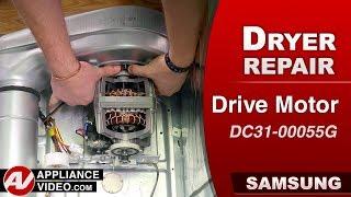 Diagnostic & Repair - Drive Motor issues - Samsung Dryer