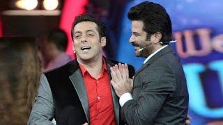 Salman Khan Calls Anil Kapoor 'UNCLE' @ AIBA Awards 2015