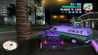 Grand Theft Auto: Vice City Deluxe with trainer (Gameplay)